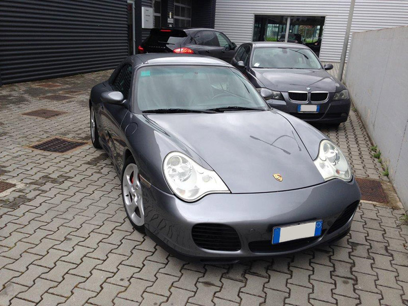 911 youngtimer - Porsche 996 - Carrera 4S cabrio - 2004 - Seal grey