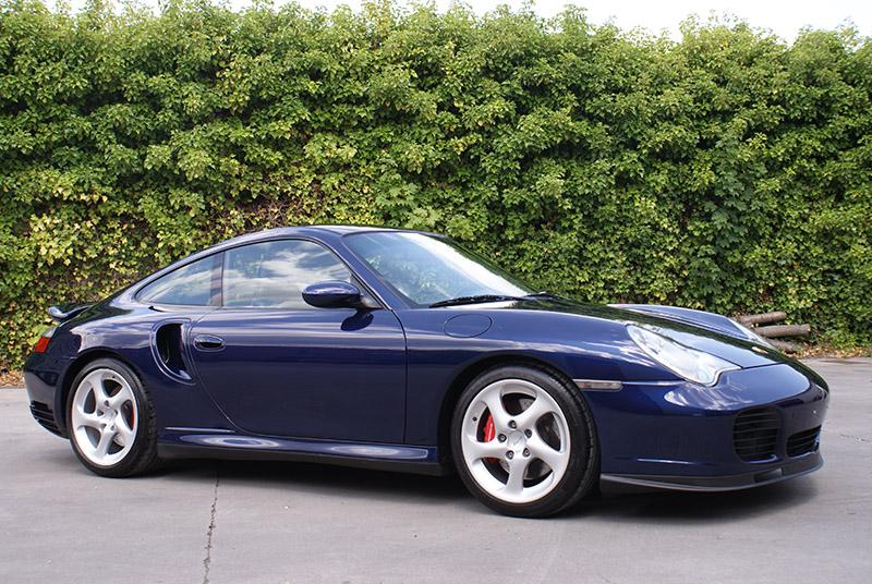 Porsche 996 Turbo 2001 Lapis blue • 911 youngtimer