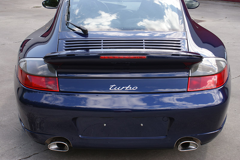 Porsche 996 Turbo 2001 Lapis blue