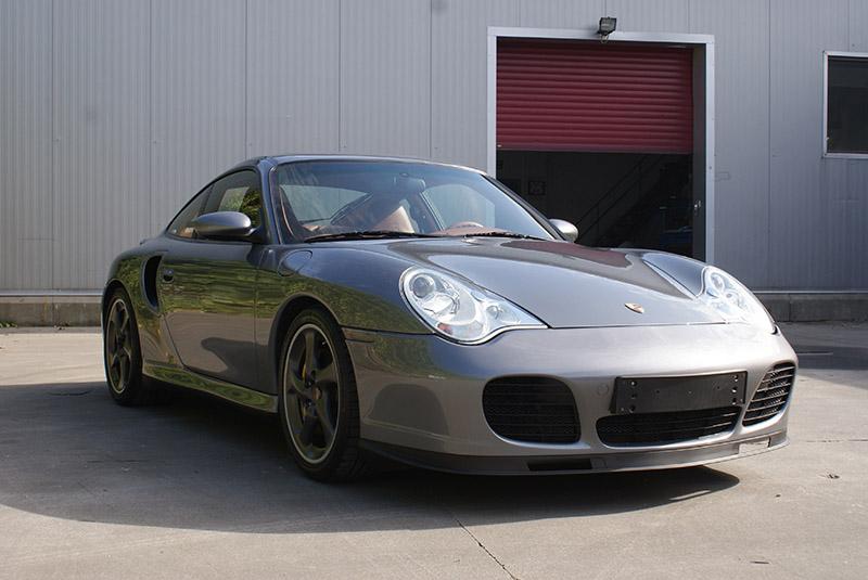 Porsche 996 Turbo X50 WLS - 2003 - Seal grey