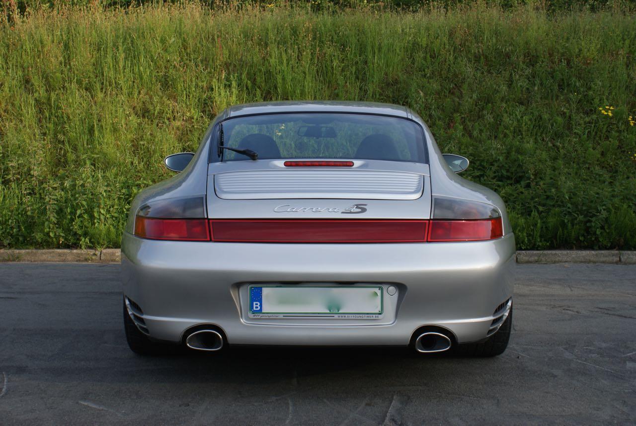 Porsche 996 carrera 4s 911 youngtimer for Porsche 996 interieur