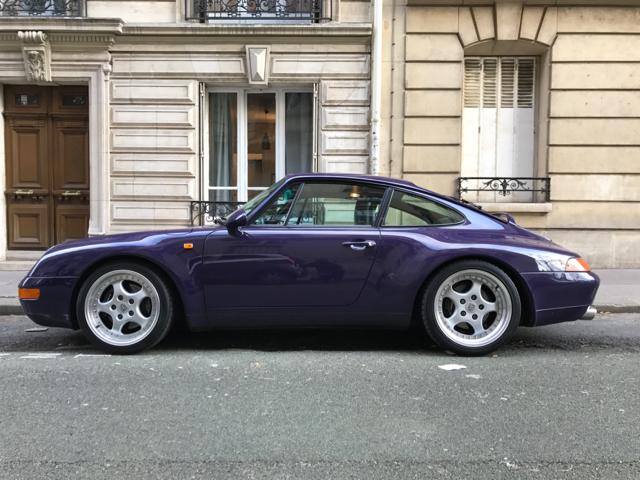 911 youngtimer - Porsche 993 Carrera - 1994 - Amarant Violet - 2 of 2