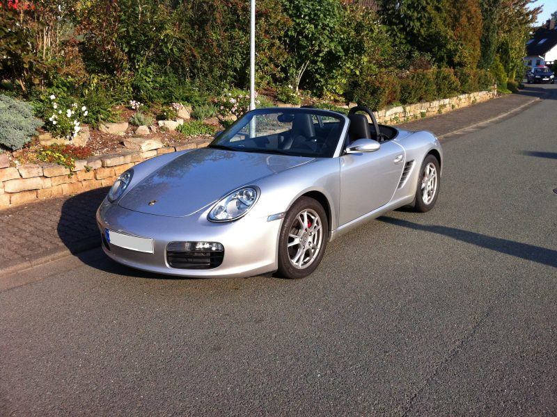 911 youngtimer - Porsche 987 Boxster 2,7L - Arctic Silver metallic - 2006