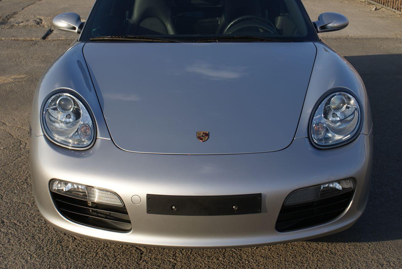911 youngtimer - Porsche 987 Boxster - Arctic Silver - 2006 - 1 of 15