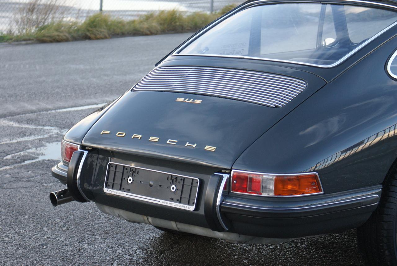 911 youngtimer - Porsche 911 S - Slate Grey - 1968 - 1 of 15