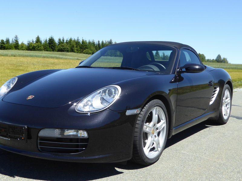 911 youngtimer - Porsche 987 Boxster - Noir Basalt - 80.500km - 2005 - 1 of 4