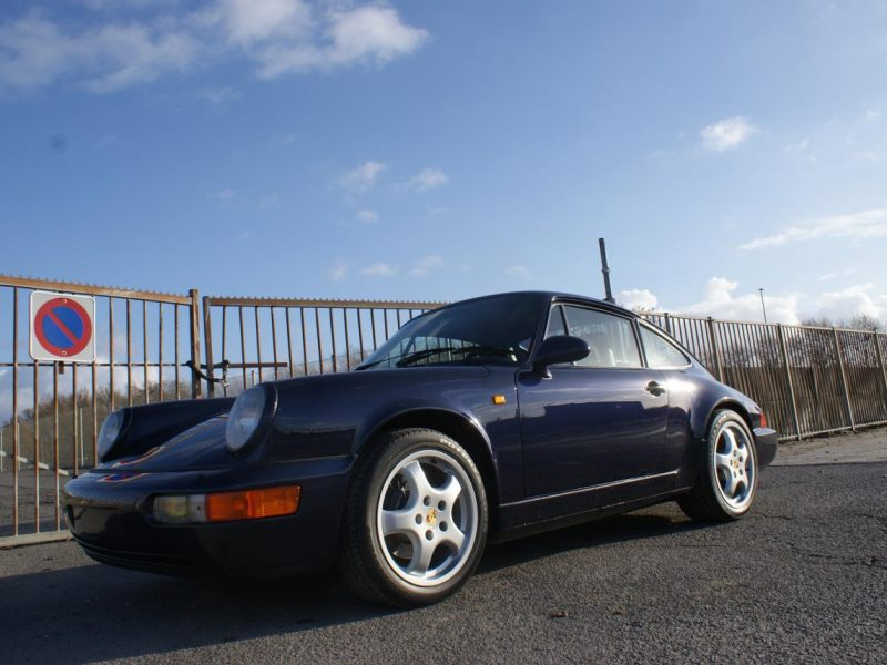 911 youngtimer - Porsche 964 Carrera 2 - Midnight Blue - 1991 - 1 of 15