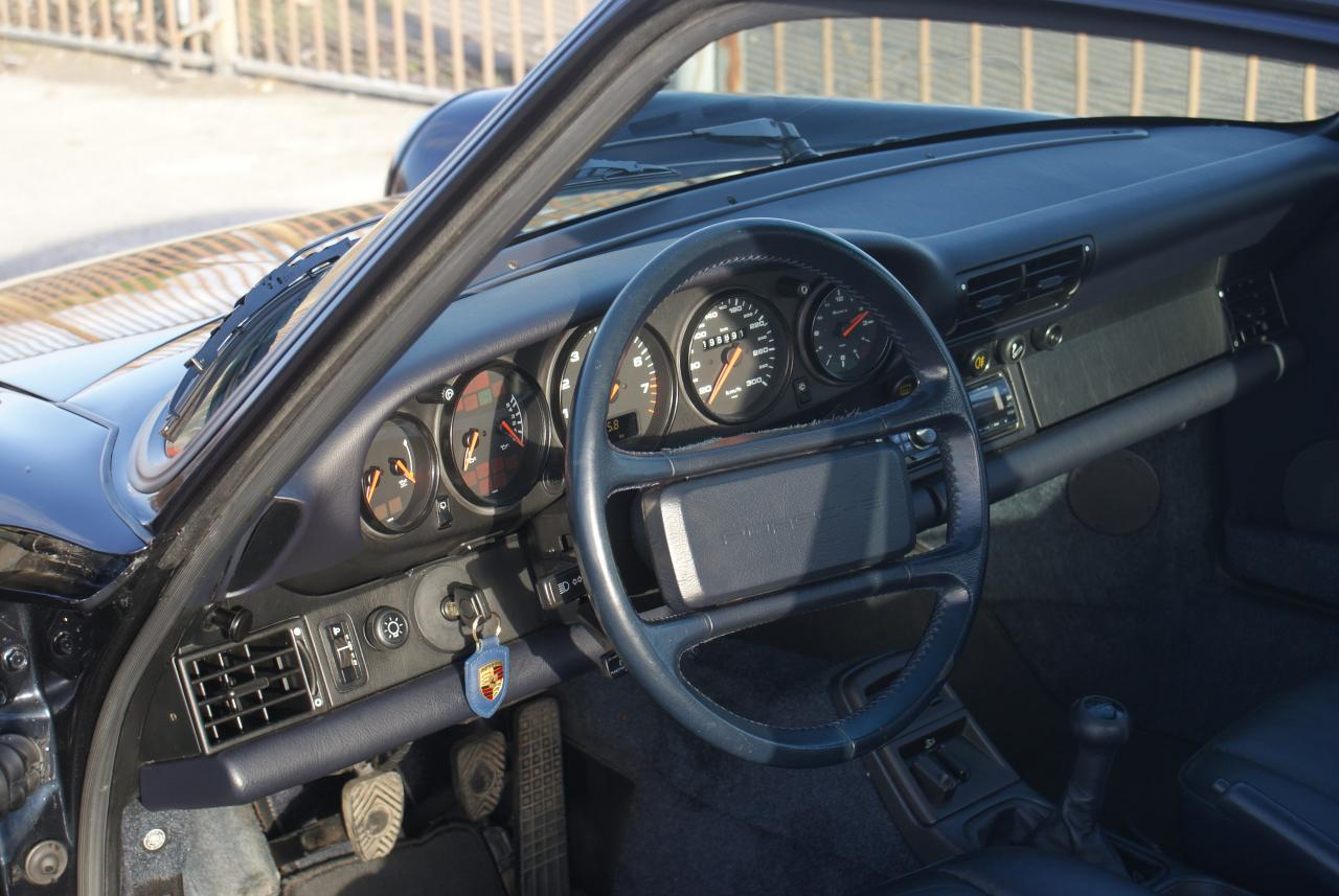 911 youngtimer - Porsche 964 Carrera 2 - Midnight Blue - 1991 - 14 of 15