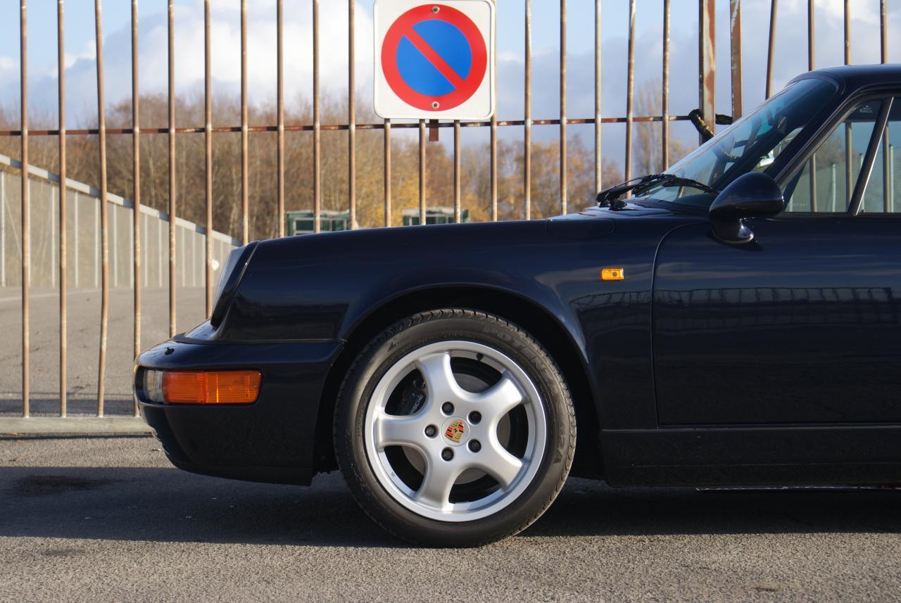 911 youngtimer - Porsche 964 Carrera 2 - Midnight Blue - 1991 - 3 of 15
