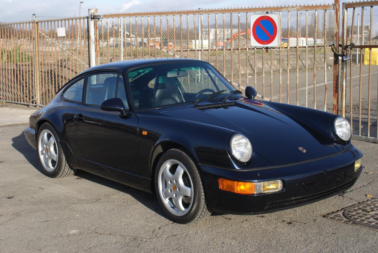 911 youngtimer - Porsche 964 Carrera 2 - Midnight Blue - 1991 - 9 of 15